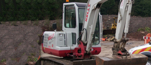 Kelly Plant Hire Digger