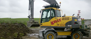 Kelly Plant Hire Volvo digger