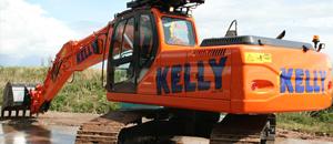 Kelly Plant Hire doosan Digger
