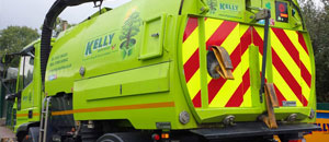 Kelly Plant Hire sweeper