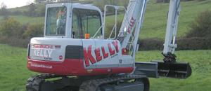 Kelly Plant Hire Digger