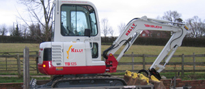 Kelly Plant Hire Digger Equipment