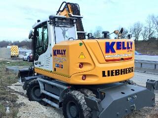 Kelly Plant Hire Equipment Liebherr