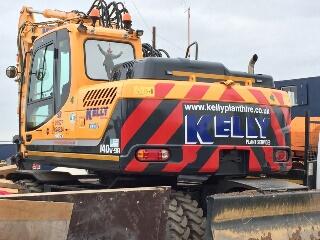 Kelly Plant Hire Hyundai R140W