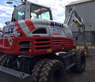 Kelly Plant Hire Takeuchi Equipment