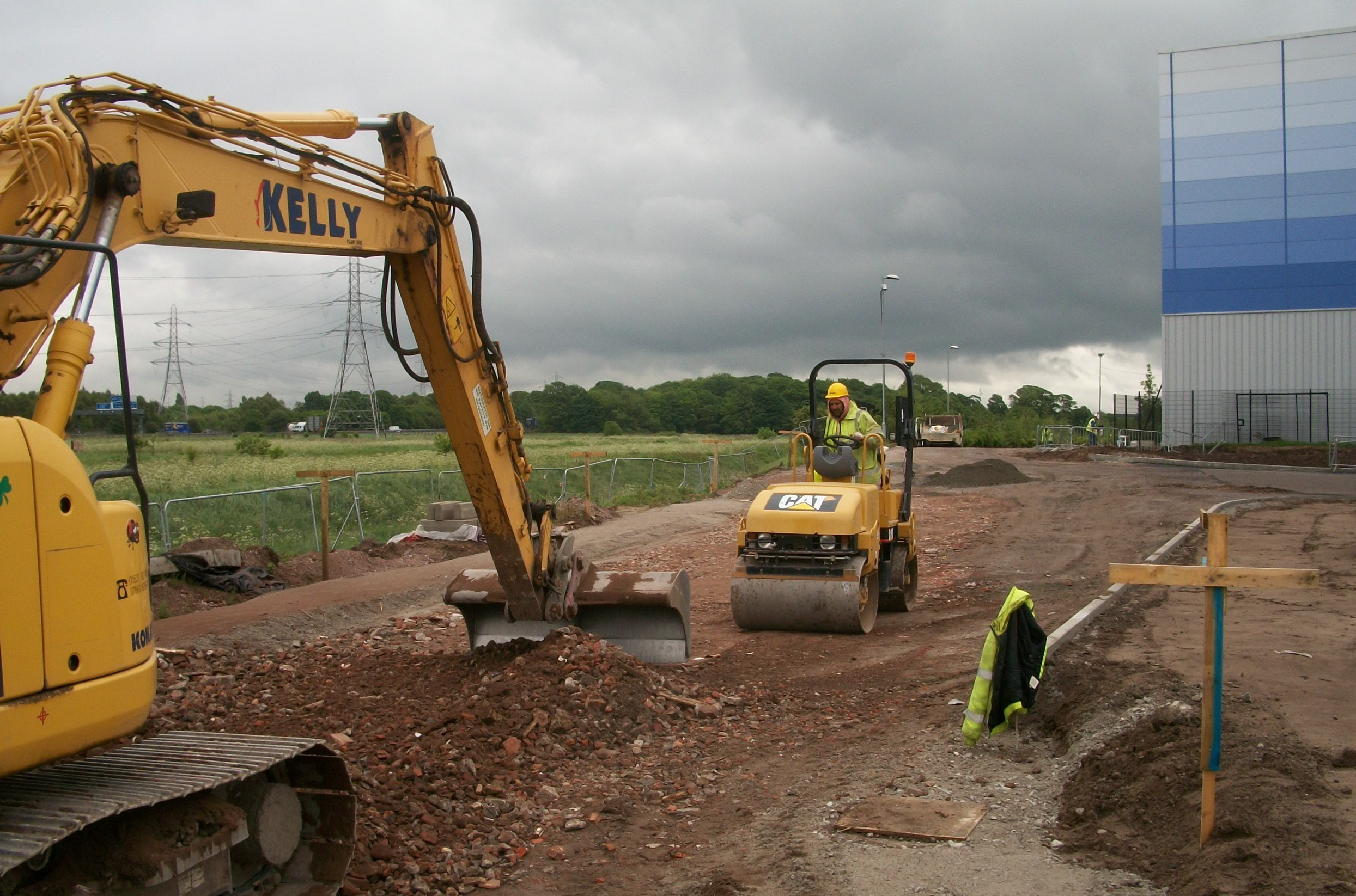 Kelly Plant Hire Equipment At Work