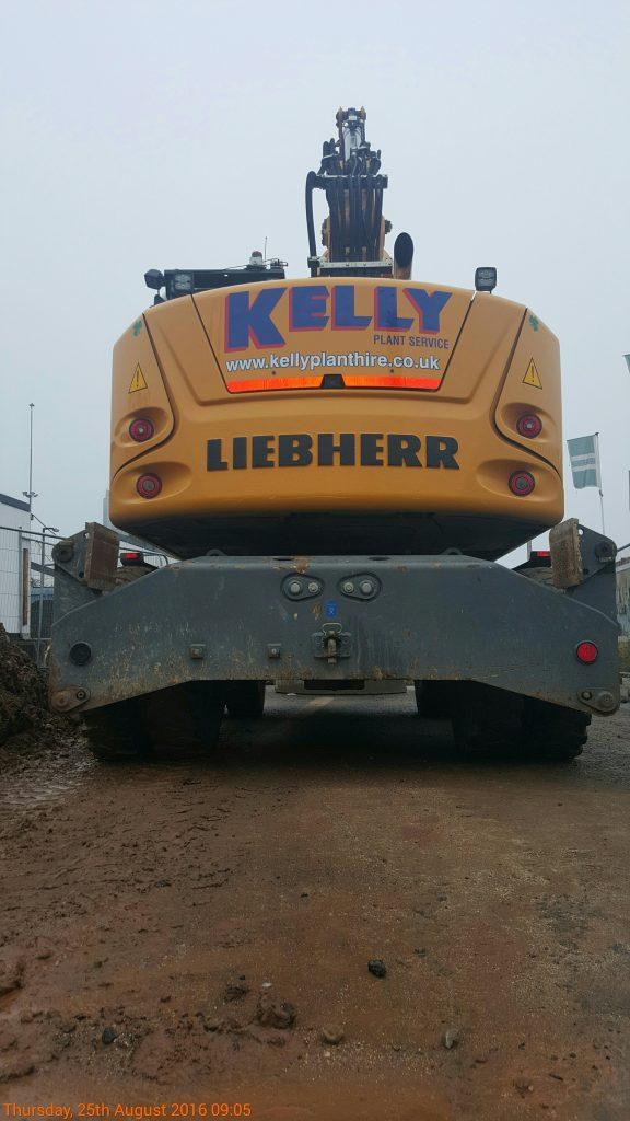 Kelly Plant Hire Liebherr
